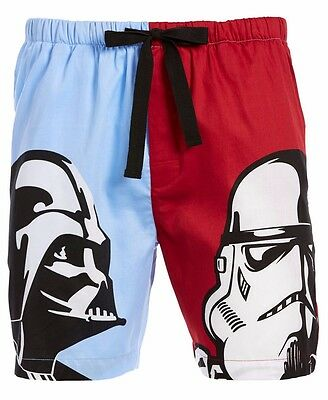 PETER ALEXANDER PJS Mens STAR WARS Darth Vader Shorts S/M/L/XL/XXL NWT Cotton PJ
