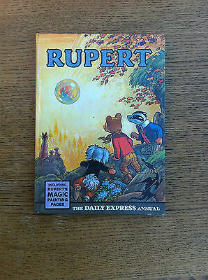 Vintage Rare Rupert Bear Annual Printed By Daily Express 1968