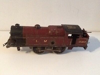 Pre War Hornby O Gauge No2 Special Tank Clockwork Locomotive