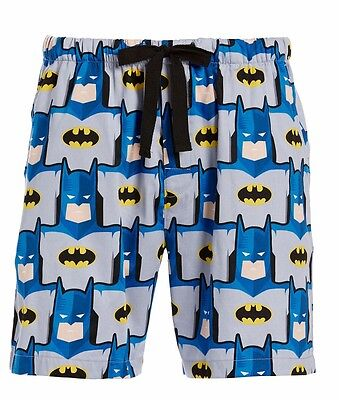 PETER ALEXANDER PJS Mens BATMAN Superhero Shorts Sz S/M/L/XL/XXL BNWT Cotton PJ
