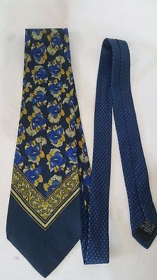 Cravatta Uomo Gianni Versace Originale 100% Seta Made In Italy