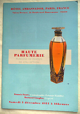 "Catalogue De Vente ""flacons A Parfum"" 3 Decembre 2011 / Collection"