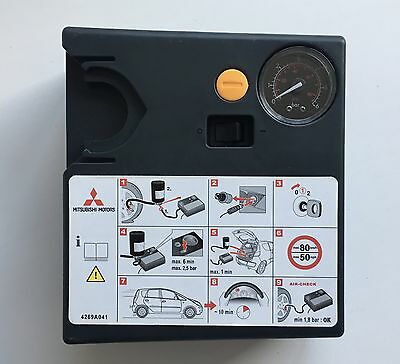 Genuine Mitsubishi Mobility Tyre Emergency Air Compressor Pump Inflator