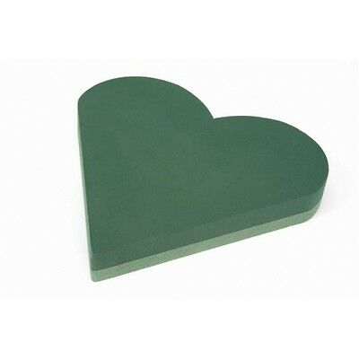 "Floral Wet Foam 23""(60Cm) Solid Hearts Funeral Memorial Oasis Type Sku 2132"