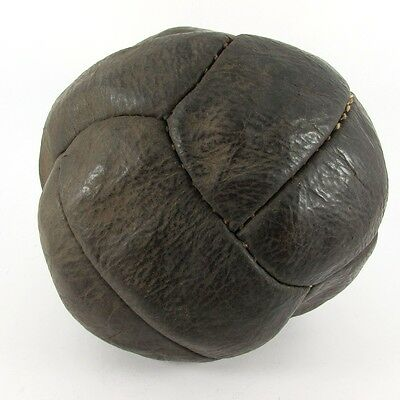 1930s RARE LEATHER SOCCER BALL FOOTBALL BERLIN OLYMPICS GAMES VINTAGE GERMANY