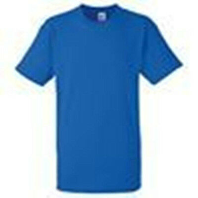 Mens Pack Of Five Logoed Workwear T Shirts Assorted Sizes Royal Blue Brand New