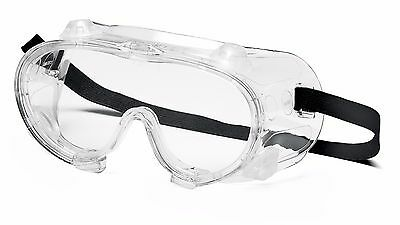 Pyramex G204T Chemical Splash Clear AF Goggles with Vent Caps, Scratch resistant