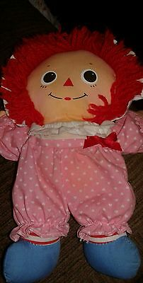 Collectable Raggedy Ann Stapler, Soft Doll,