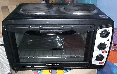 Andrew James Mini Oven With Hob