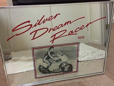 'Sliver Dream Racer' Mirror Print signed by David Essex