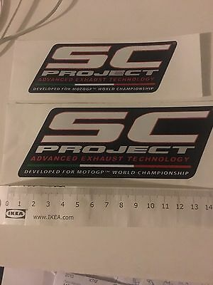 Sc Project Exhaust Stickers