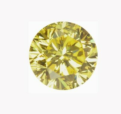Diamant Jaune 0.42ct - SI - SUPERBE !!!!