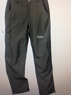 Rail Riders Insect Shield Repellent Hiking Cargo Pants Nylon Size XS