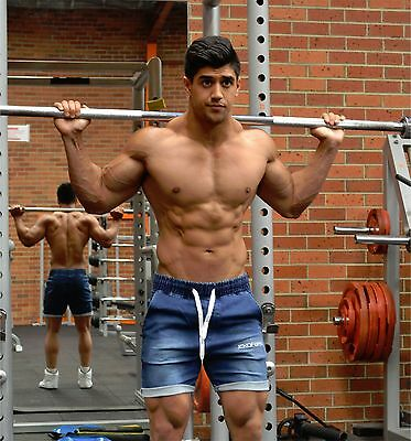 Mens Gym Shorts Bodybuilding Training Workout