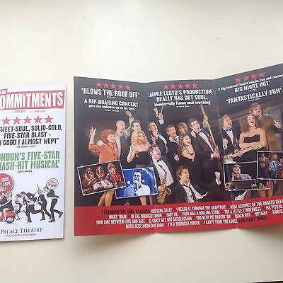 2x flyer THE COMMITMENTS New Palace Theatre