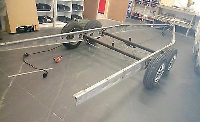 Car trailer boat project Caravan Chassis Twin Axle