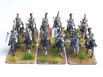 Warlord Games 28Mm Napoleonic French Carabiniers X 12. Painted