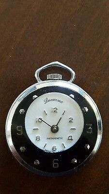 Lucerne Pendant Watch Swiss Made Wind Up Automatic Necklace Anti Magnetic