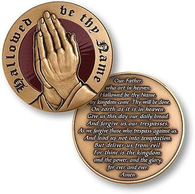 """""""OUR FATHER"""" Soldier Prayer, Military Law Police DEA FBI CIA SWAT Challenge COIN"""