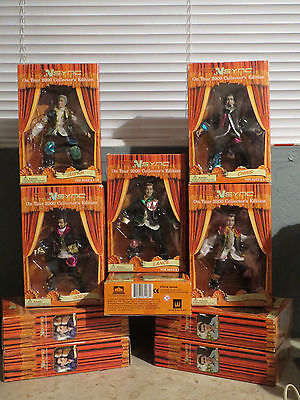 NSYNC On Tour 2000 Collector's Edition Marrionette Puppet Dolls Figure Lot of 10