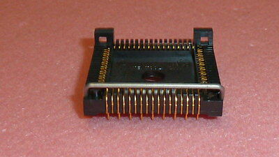 TEST SOCKET PLCC68 Chip Carrier ZIF 3M TEXTOOL 20068-05400-050-011-002 GOLD PIN