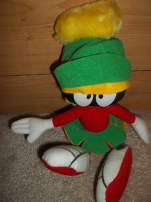"""1994 Looney Tunes """"Marvin the Martian"""" Plush- 10"""""""