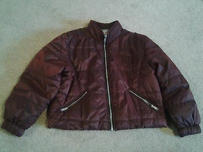 NAF-NAF Burgundy Coat Age 8 Years