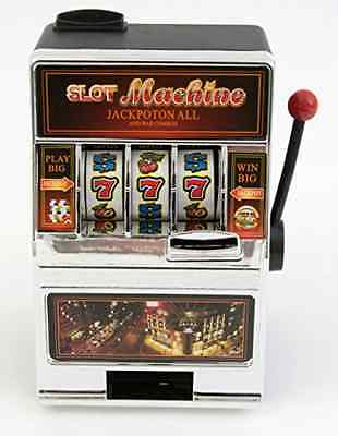 One Arm Bandit Slot Machine Money Box