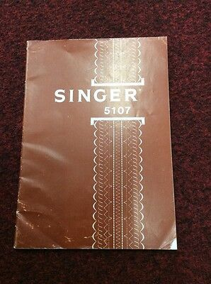 Singer 5107 instruction book