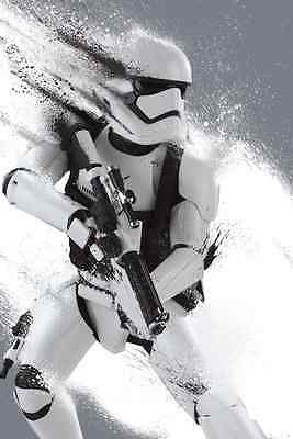 STAR WARS: THE FORCE AWAKENS - STORMTROOPER IN THE SNOW - glossy A4 print