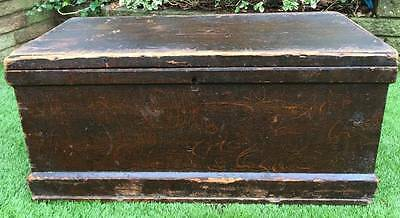 Victorian Antique Blanket Box / Chest / Storage /Toy Box / Coffee Table