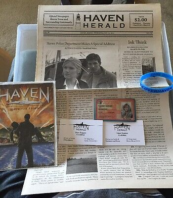 Haven Tv Series Promotional Items Stephen King