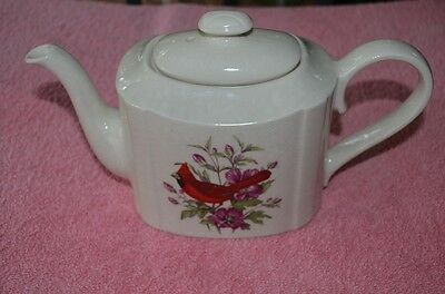 Vintage House Of Goeble Cardinal Teapot From Staffordshire England
