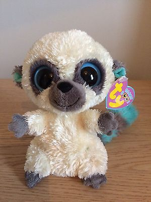 "Genuine TY Beanie Boo (Boos) Cleo the Super Secret Ninja 6"" with Tags 2009"