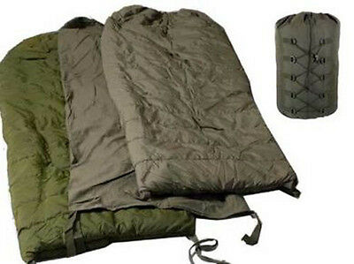 Used Canadian military 4 pieces Cold weather arctic sleeping bag ( store #S18 )