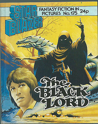 The Black Lord,no.175,starblazer Fantasy Fiction In Pictures,comic