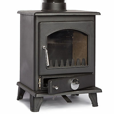 Coseyfire Crofter Cast Iron Multi-Fuel Woodburning Stove Stoves 5kw Boat