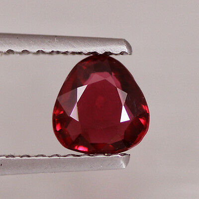 0.76Cts Hot Sale!!!good Color Natural Unheated Red Spinel Loose Gemstone