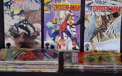 The Web Of Spider Man NM Marvel Comics Almost Complete Run 1 2 3 up to nr 40