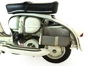 Lambretta LI 125 150 TV Series 1 & 2 Under Sidepanel Storage - TD Customs
