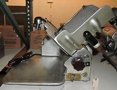 """Used Globe 510 Manual Commercial Deli Meat Slicer with 12"""" Blade"""