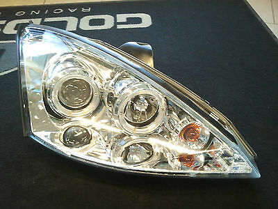 LED Scheinwerfer Ford Focus 1.Gen. in Chrom