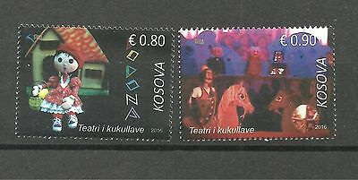 KOSOVO 584 2016 Puppet Theatre-Scenes from the activity set MNH