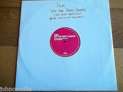 """Pink - Get The Party Started 12"""" Record / Vinyl - Arista - Pinkk5"""