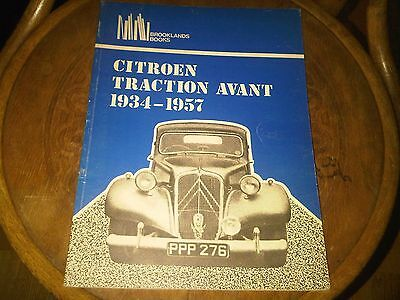 Citroen Traction Avant 1934 - 1957 Brooklands Books Road Tests Adverts Articles