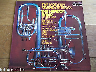 The Hendon Band - The Modern Sound Of Brass - Lp/record - Contour - 2870 343