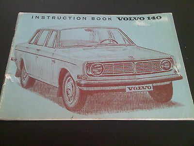 Volvo 140 B20 Instruction Book Owners Handbook Manual Operating Instructions