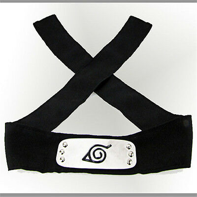 Naruto Headband Leaf Village Logo Members Kakashi  Headband Naruto cosplay RP