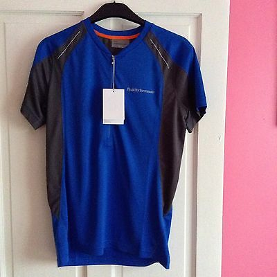 Men's Cycling Jersey Small By Peak Performance New With Tag