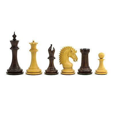 The Large Sheffield Knight Rosewood Luxury Chessmen 4.25 inch RCP143